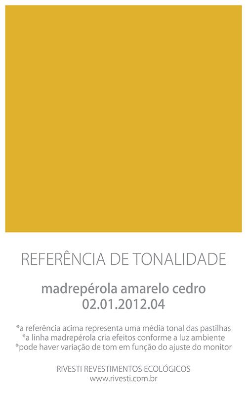 Amarelo Cedro