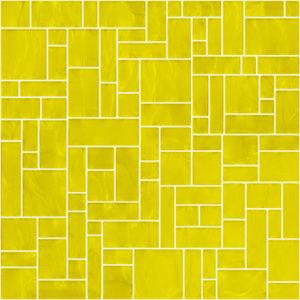Pastilhas Rivesti Geométrico Amarelo Cedro 33 x 33 cm