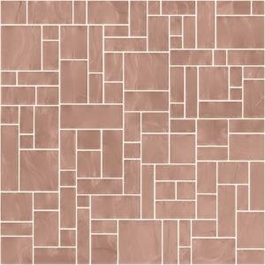 Pastilhas Rivesti Geométrico Bege Macela do Campo 33 x 33 cm
