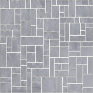 Pastilhas Rivesti Geométrico Prata Itaúba 33 x 33 cm