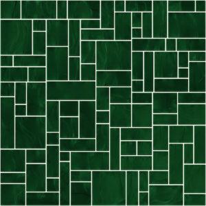 Pastilhas Rivesti Geométrico Verde Jequitibá 33 x 33 cm