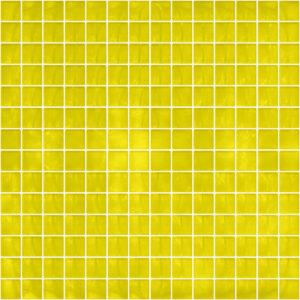 Pastilhas Rivesti Quadrado Amarelo Cedro 33 x 33 cm