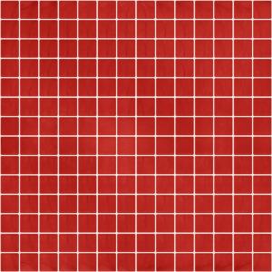 Pastilhas Rivesti Quadrado Vermelho Urucum 33 x 33 cm