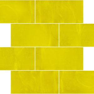 Pastilhas Rivesti Subway Amarelo Cedro 38,5 x 30,5 cm