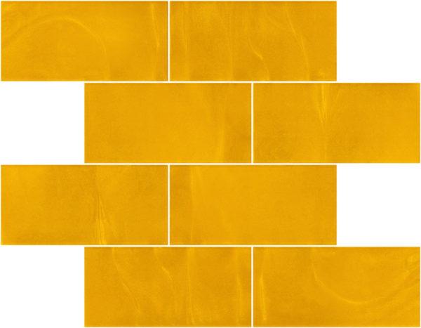 Pastilhas Rivesti Subway Amarelo Ipê 38,5 x 30,5 cm