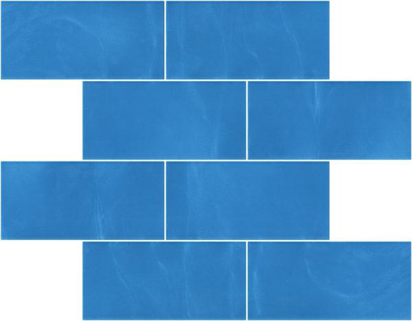 Pastilhas Rivesti Subway Azul Candombá 38,5 x 30,5 cm