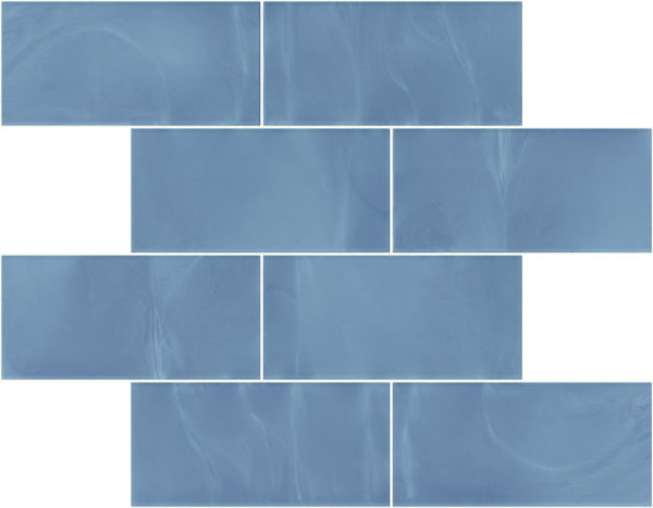 Pastilhas Rivesti Subway Azul Imburana 38,5 x 30,5 cm