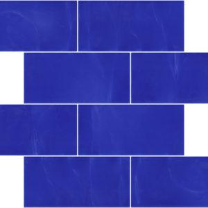 Pastilhas Rivesti Subway Azul Manacá 38,5 x 30,5 cm