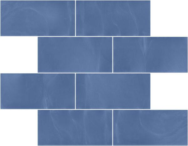 Pastilhas Rivesti Subway Azul Sucupira 38,5 x 30,5 cm