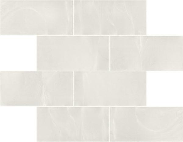 Pastilhas Rivesti Subway Branco Jarina 38,5 x 30,5 cm