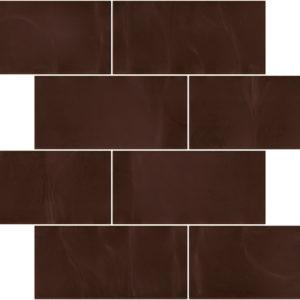 Pastilhas Rivesti Subway Cobre Cumaru 38,5 x 30,5 cm