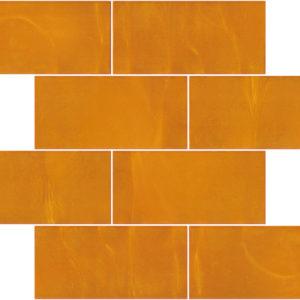 Pastilhas Rivesti Subway Laranja Cambucá 38,5 x 30,5 cm