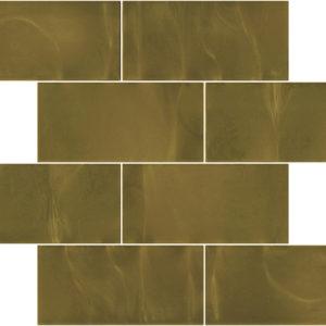 Pastilhas Rivesti Subway Marrom Imbuia 38,5 x 30,5 cm