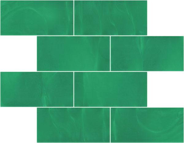Pastilhas Rivesti Subway Verde Jatobá 38,5 x 30,5 cm