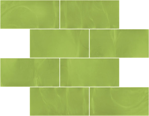 Pastilhas Rivesti Subway Verde Mandacaru 38,5 x 30,5 cm
