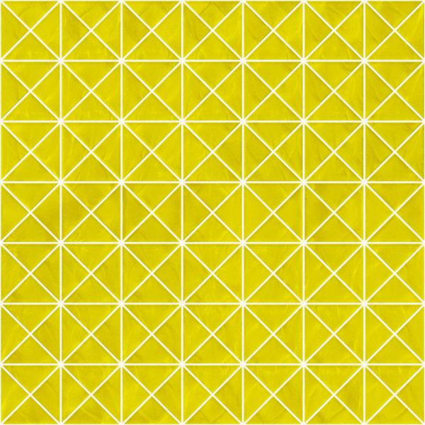 Pastilhas Rivesti Triangular Amarelo Cedro 33 x 33 cm