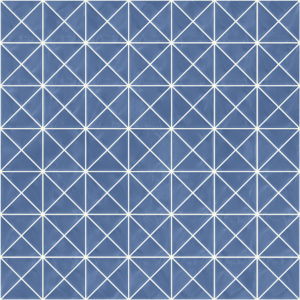 Pastilhas Rivesti Triangular Azul Sucupira 33 x 33 cm