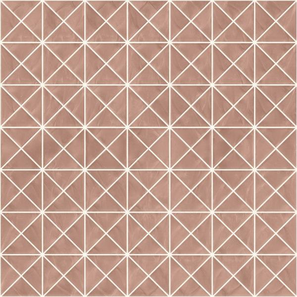Pastilhas Rivesti Triangular Bege Castanheira do Pará 33 x 33 cm