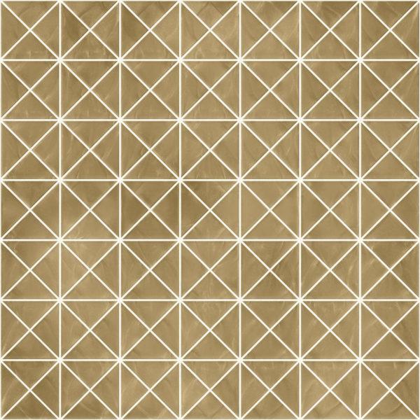 Pastilhas Rivesti Triangular Bege Virola 33 x 33 cm