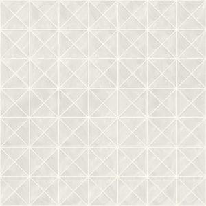 Pastilhas Rivesti Triangular Branco Jarina 33 x 33 cm