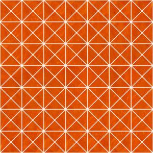 Pastilhas Rivesti Triangular Laranja Camapu 33 x 33 cm