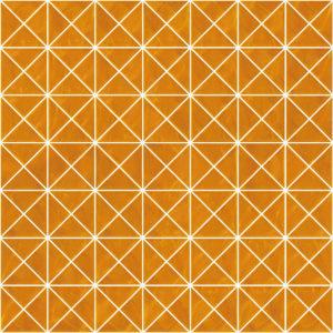 Pastilhas Rivesti Triangular Laranja Cambucá 33 x 33 cm