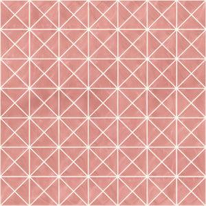 Pastilhas Rivesti Triangular Rosa Embaúba 33 x 33 cm
