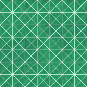 Pastilhas Rivesti Triangular Verde Jatobá 33 x 33 cm